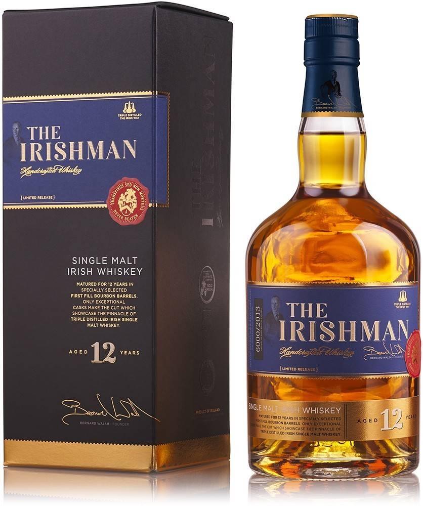 The Irishman The Irishman Single Malt 12 ročná 43% 0,7l