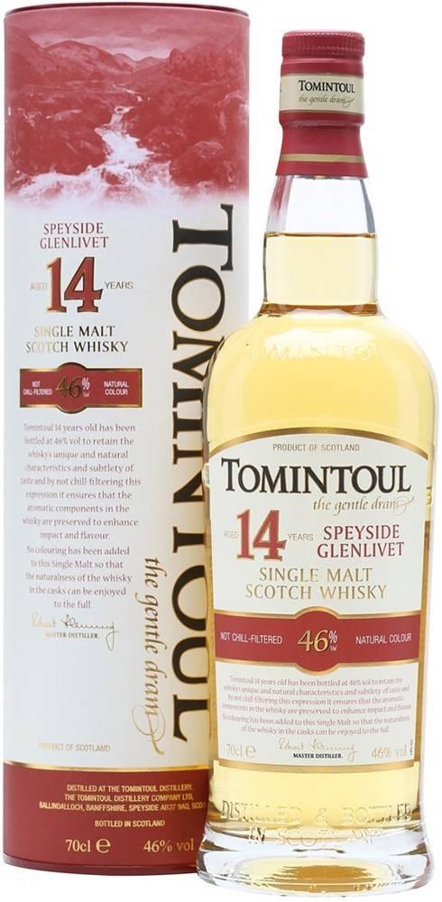 Tomintoul Tomintoul 14 ročná 46% 0,7l