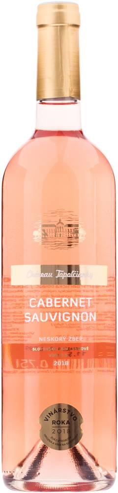 Château Topoľčianky Chateau Topoľčianky Cabernet Sauvignon rosé 11,5% 0,75l