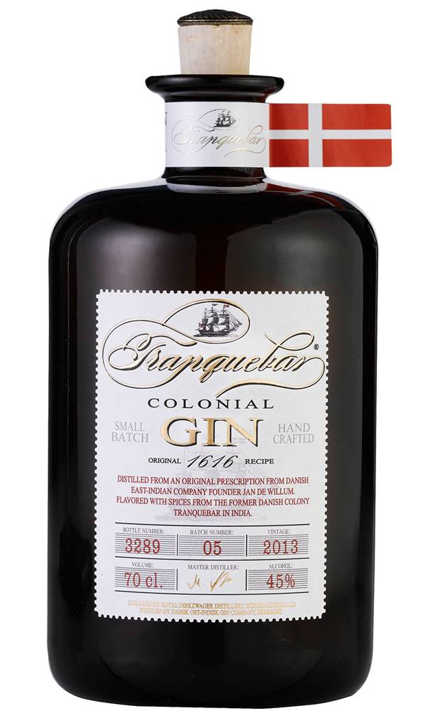 Tranquebar Tranquebar Colonial Gin 45% 0,7l