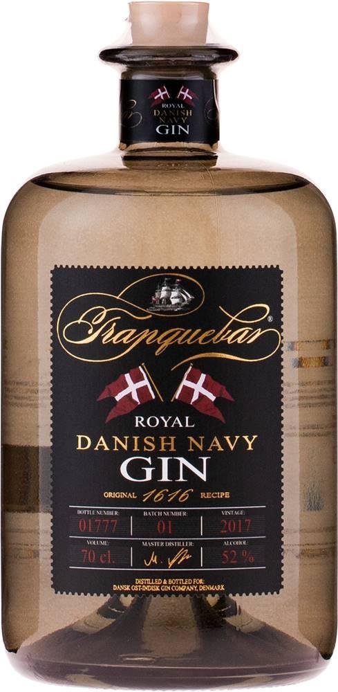 Tranquebar Tranquebar Navy Gin 52% 0,7l