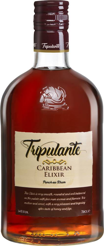 Ron 1914 Tripulante Caribbean Elixir 34% 0,7l