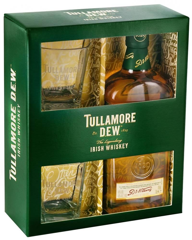 Tullamore Dew Tullamore Dew s 2 pohármi 40% 0,7l