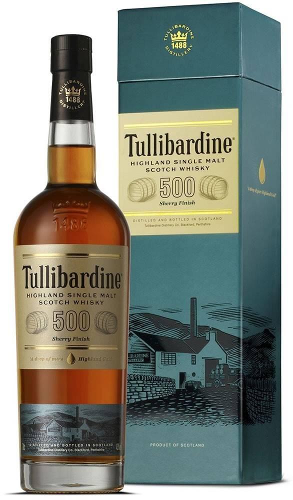 Tullibardine Tullibardine 500 Sherry Finish 43% 0,7l