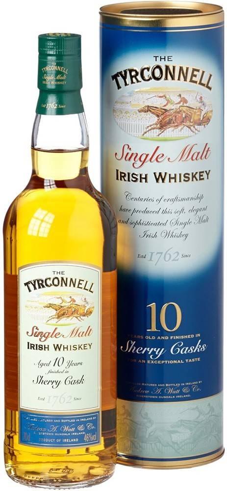 Tyrconnell Tyrconnell 10 Ročná Sherry Cask Finish 46% 0,7l