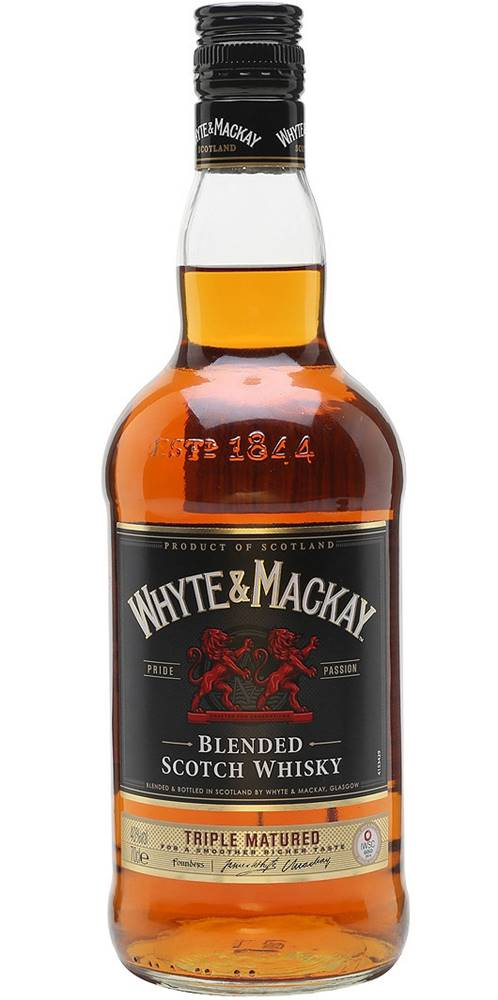 Whyte and Mackay Whyte & Mackay Triple Matured 40% 0,7l
