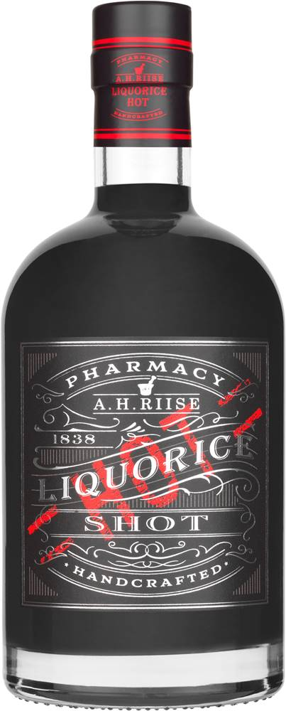A.H.Riise A.H. Riise Pharmacy Liquorice Hot Shot  18% 0,7l