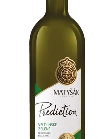 Matyšák Prediction Veltlínske zelené 12,5% 0,75l