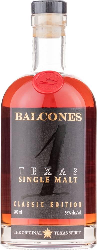 Balcones Balcones Texas Single Malt 53% 0,7l