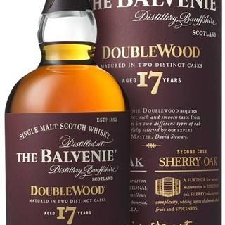 The Balvenie DoubleWood 17 ročná 43% 0,7l