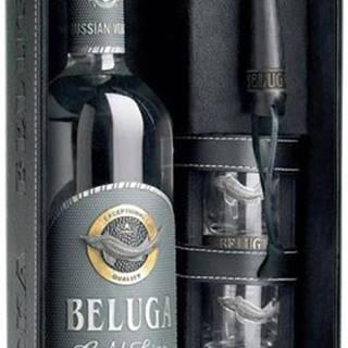 Beluga Gold Line s 3 pohármi 40% 0,7l