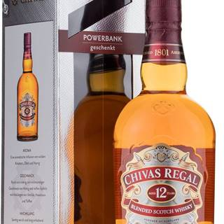 Chivas Regal 12 ročná + powerbanka 40% 0,7l