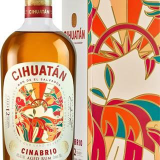 Cihuatán Cinabrio 12 ročný  40% 0,7l