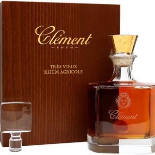 Clément Rhum Carafe Cristal 42% 0,7l