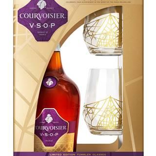 Courvoisier VSOP s 2 pohármi