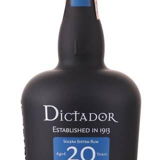 Dictador 20 ročný 40% 0,7l