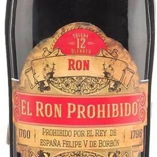 El Ron Prohibido Habanero 12 ročný 40% 0,7l