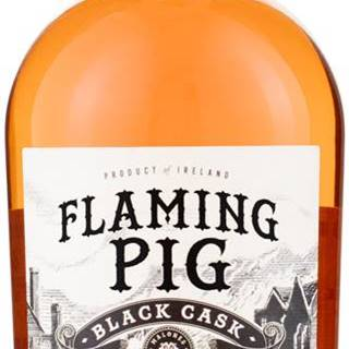 Flaming Pig Black Cask 40% 0,7l