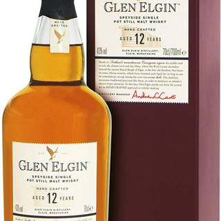 Glen Elgin 12 ročná 43% 0,7l
