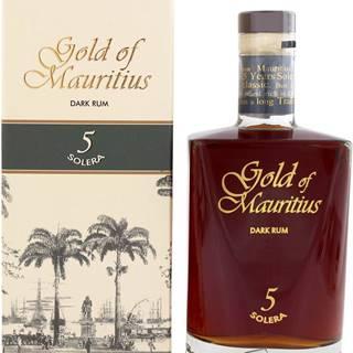 Gold of Mauritius Dark Rum 5 Solera 40% 0,7l