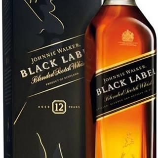 Johnnie Walker Black Label 12 ročná 40% 0,7l
