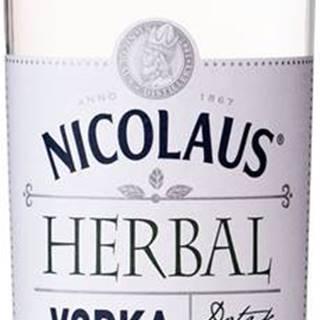 Nicolaus Herbal Vodka Baza & Mäta 38% 0,7l