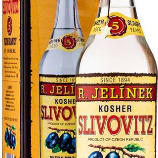 Rudolf Jelínek Slivovica v plechu 50% 0,7l