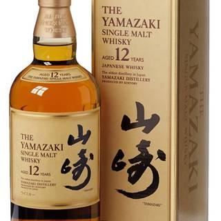Suntory Yamazaki 12 ročná 43% 0,7l