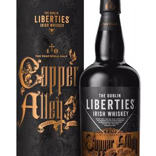 The Dublin Liberties Copper Alley 10 ročná Sherry Cask Finish 46% 0,7l