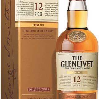 The Glenlivet 12 Ročná First Fill 40% 0,7l
