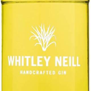 Whitley Neill Lemongrass & Ginger Gin 43% 0,7l