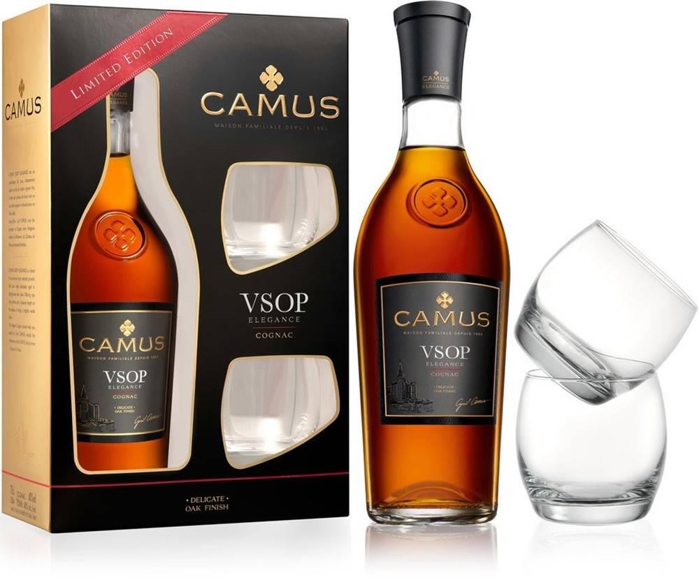 Camus Camus VSOP Elegance s 2 pohármi