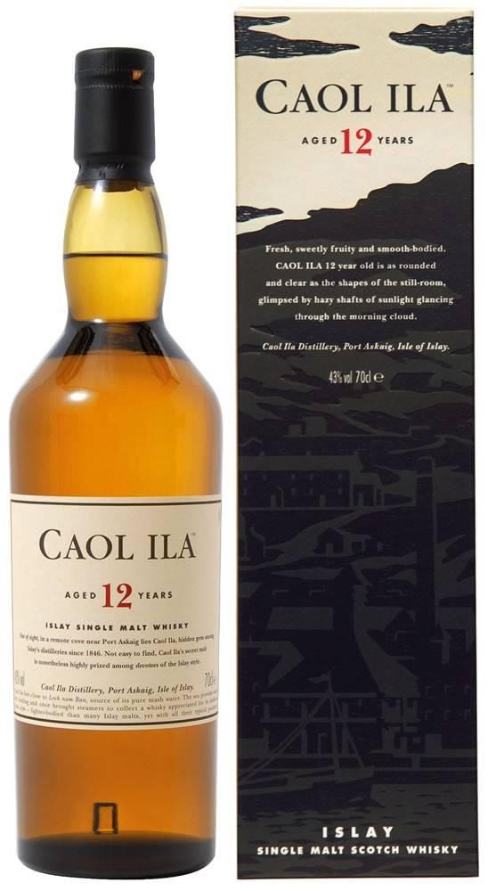 Caol Ila Caol Ila 12 ročná 43% 0,7l