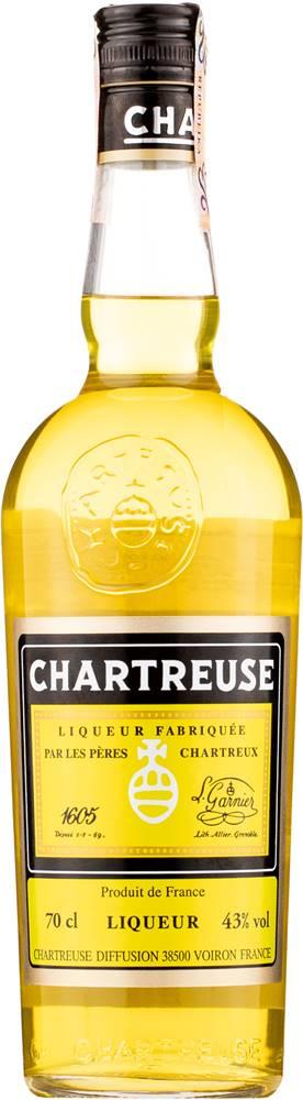 Chartreuse ChartreJaune 43% 0,7l