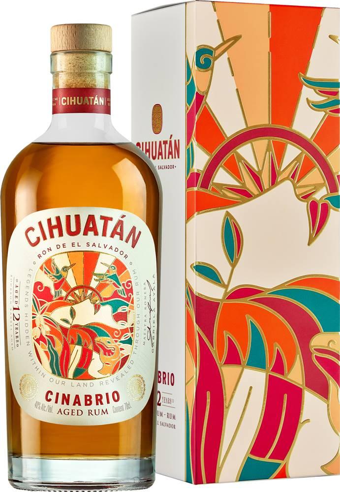Cihuatán Cihuatán Cinabrio 12 ročný  40% 0,7l