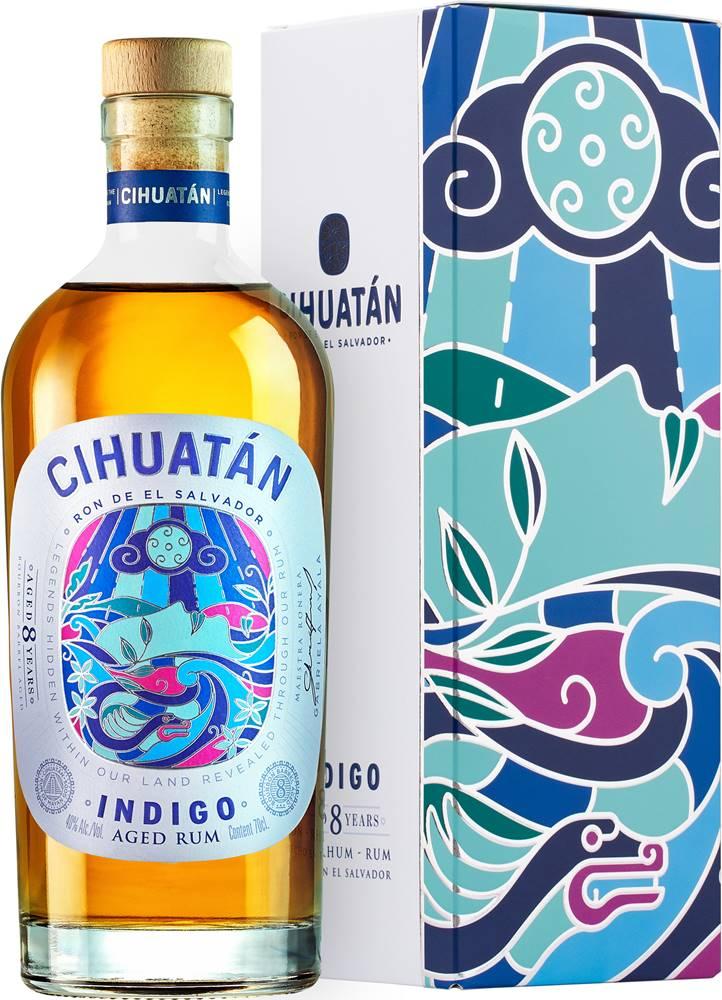 Cihuatán Cihuatan Indigo 8 ročný 40% 0,7l