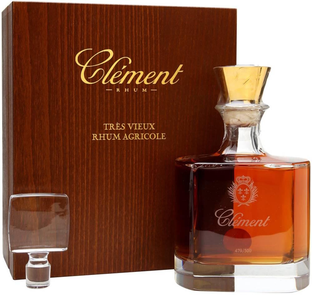 Clément Clément Rhum Carafe Cristal 42% 0,7l