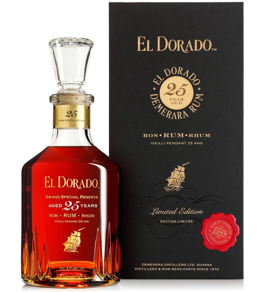 El Dorado El Dorado 25 ročný 43% 0,7l