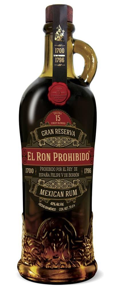 El Ron Prohibido El Ron Prohibido Gran Reserva 15 40% 0,7l