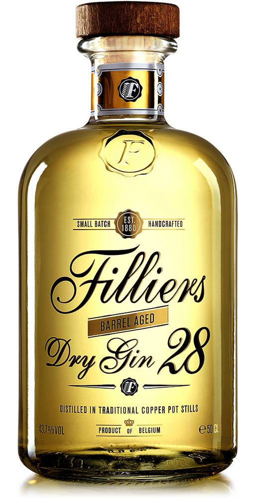 Filliers Filliers Dry Gin 28 Barrel Aged 43,7% 0,5l