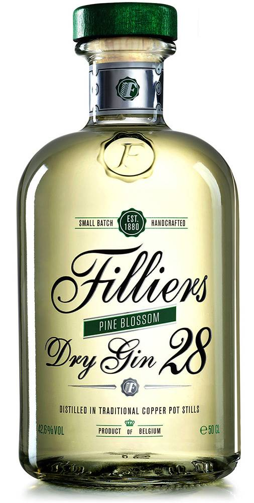 Filliers Filliers Dry Gin 28 Pine Blossom 42,6% 0,5l