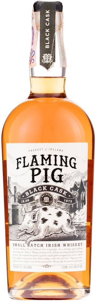 Flaming Pig Flaming Pig Black Cask 40% 0,7l