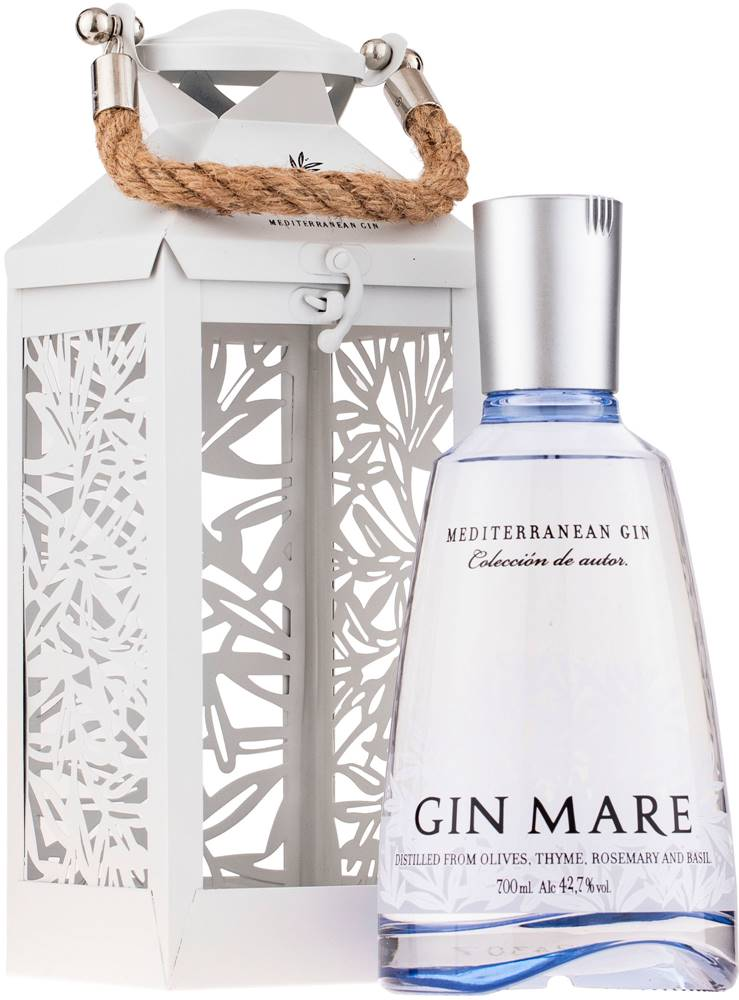 Gin Mare Gin Mare + lampáš 42,7% 0,7l