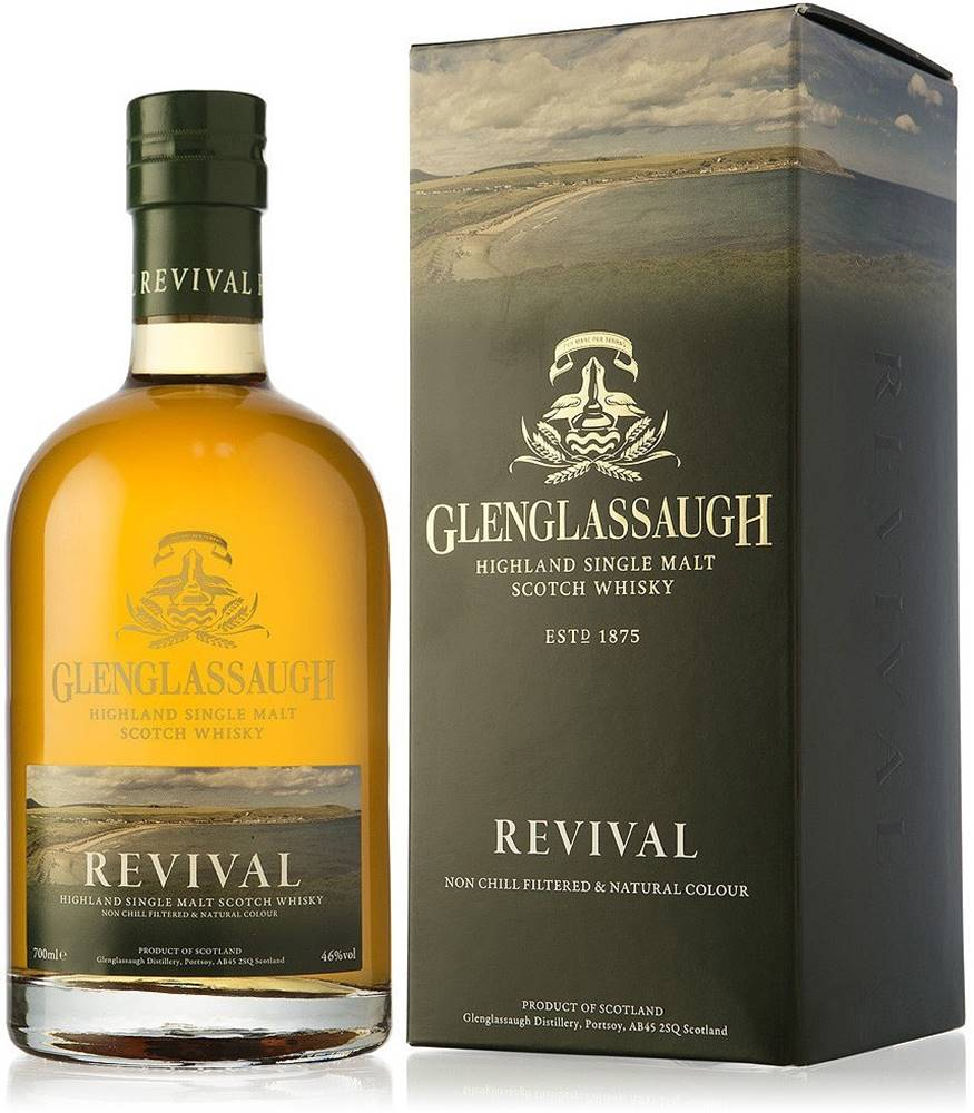 Glenglassaugh Glenglassaugh Revival 46% 0,7l