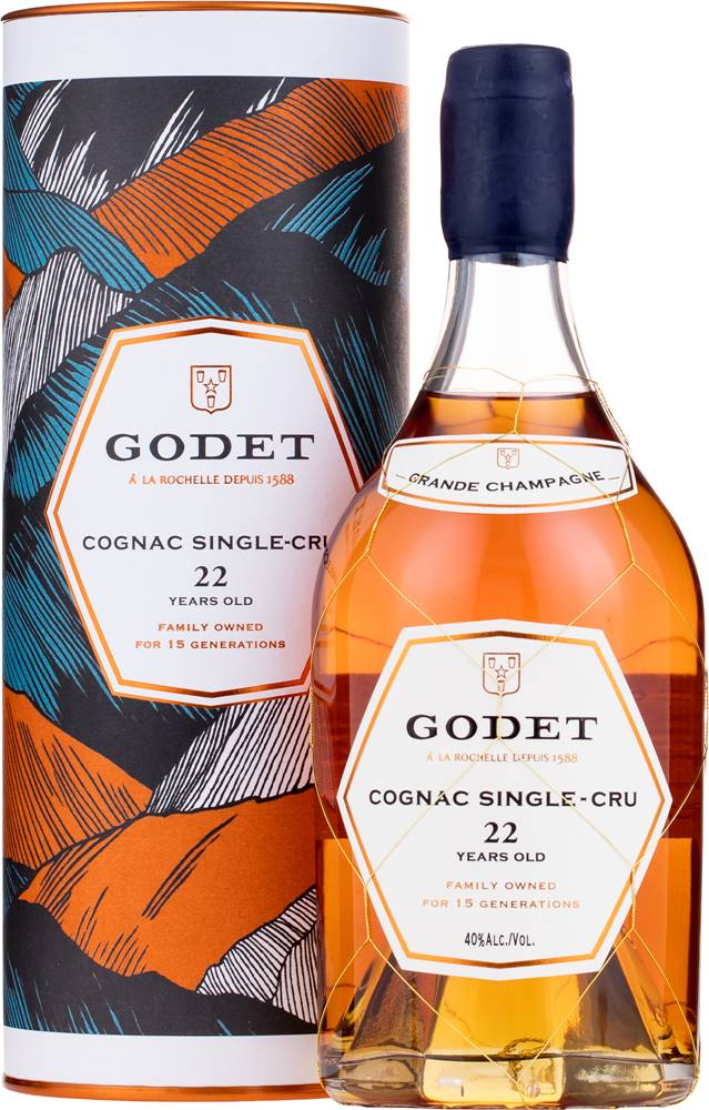 Godet Godet Single Cru Grande Champagne 22 ročný