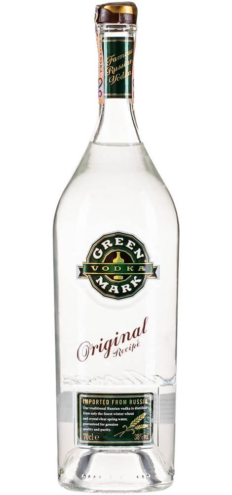 Green Mark Green Mark Vodka 38% 0,7l