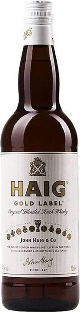 Haig Haig Gold Label 40% 0,7l