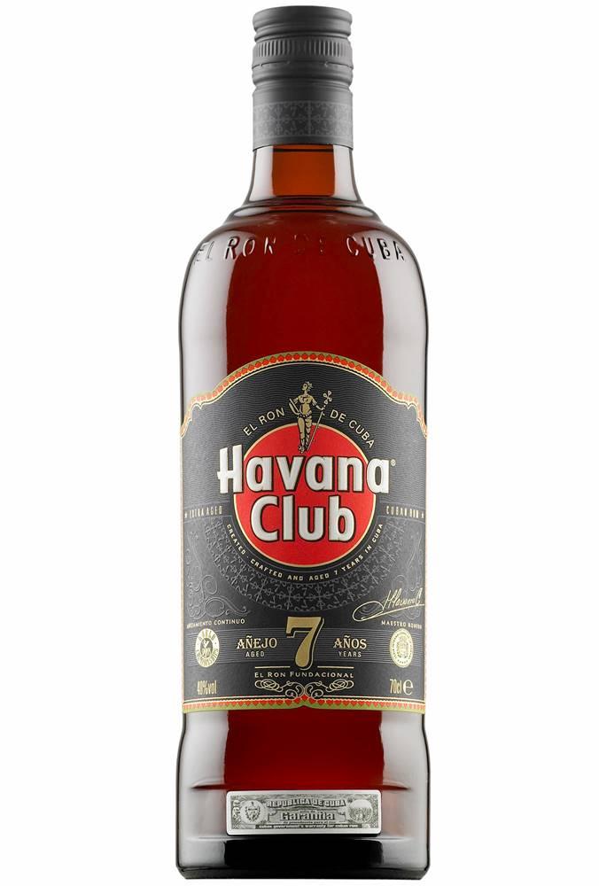 Havana Club Havana Club 7 ročný 40% 0,7l