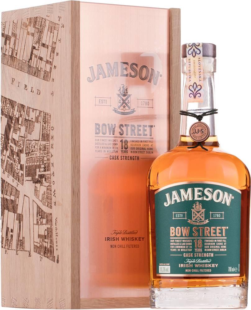 Jameson Jameson Bow Street 18 ročný 55,3% 0,7l