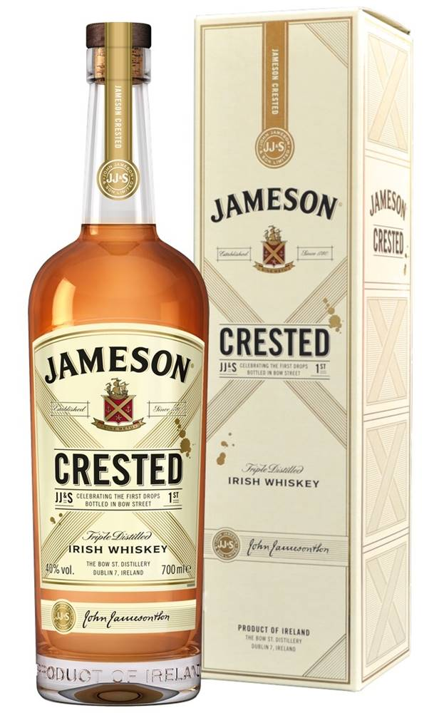 Jameson Jameson Crested 40% 0,7l